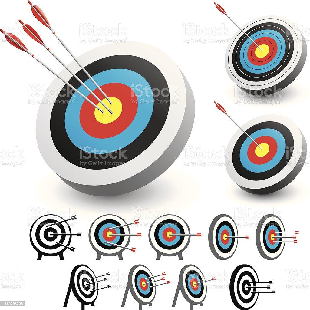 Target vector art illustration