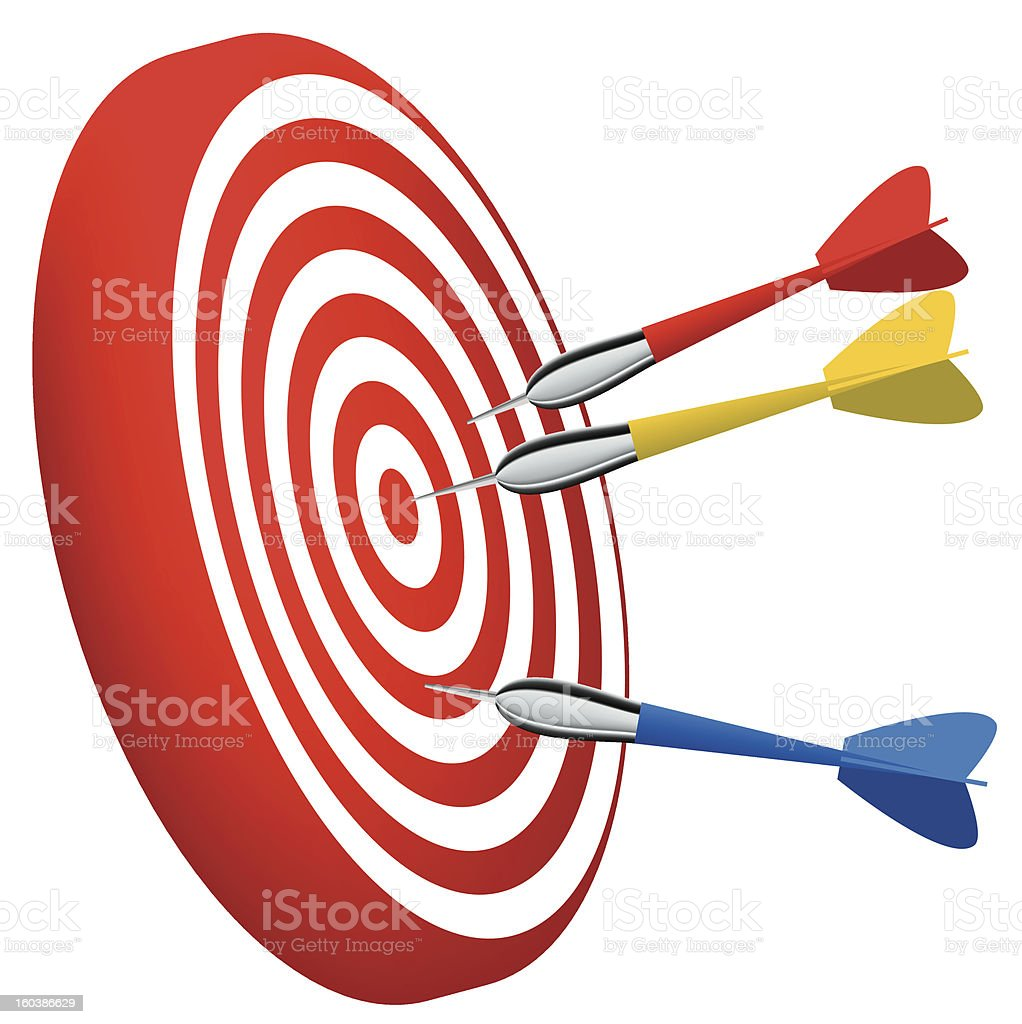 target vector royalty-free stock vector art