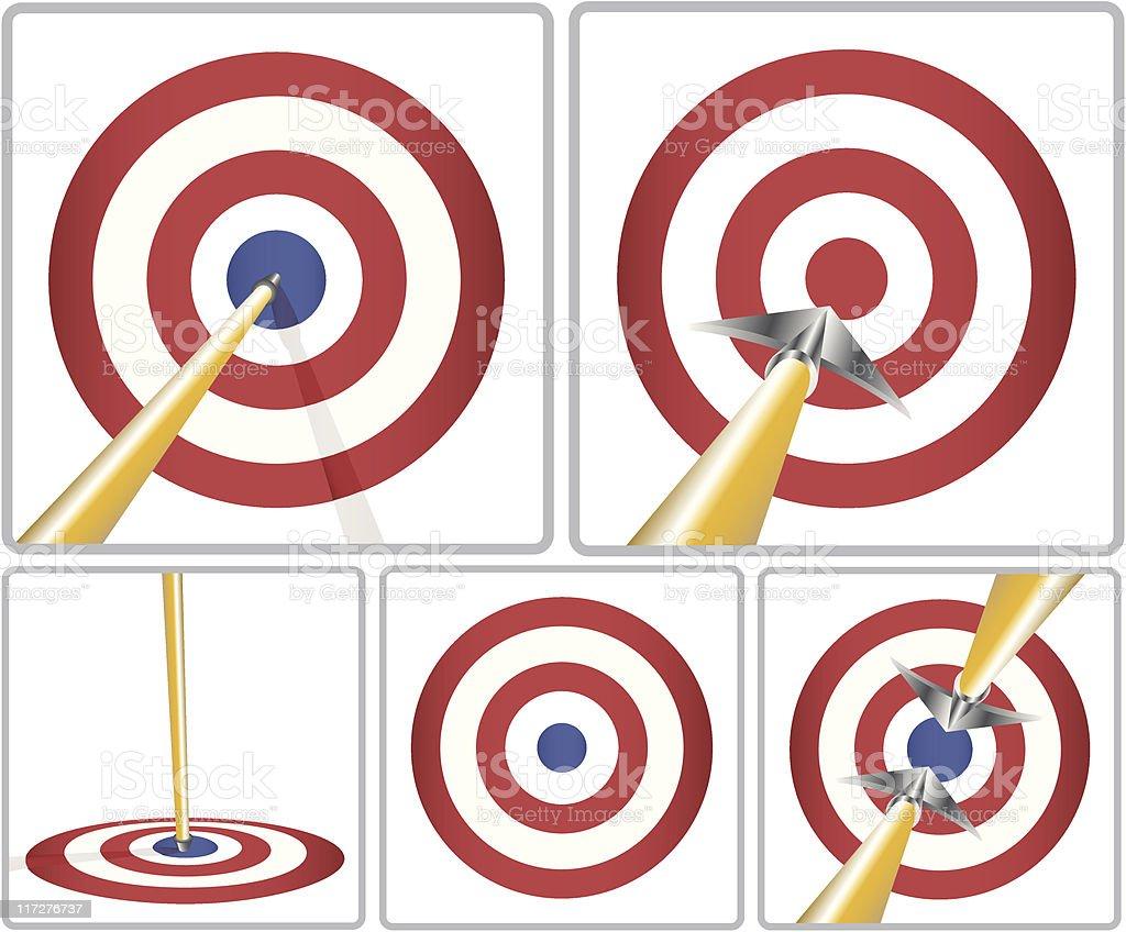 target-Bull's-Eye royalty-free stock vector art