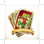 Tarot vintage icon