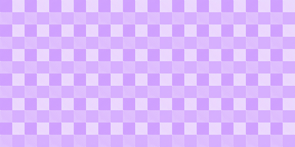 Tartan fabric cloth textile square violet color template artwork pattern seamless wrapping paper canvas abstract background textured wallpaper backdrop vector illustration EPS