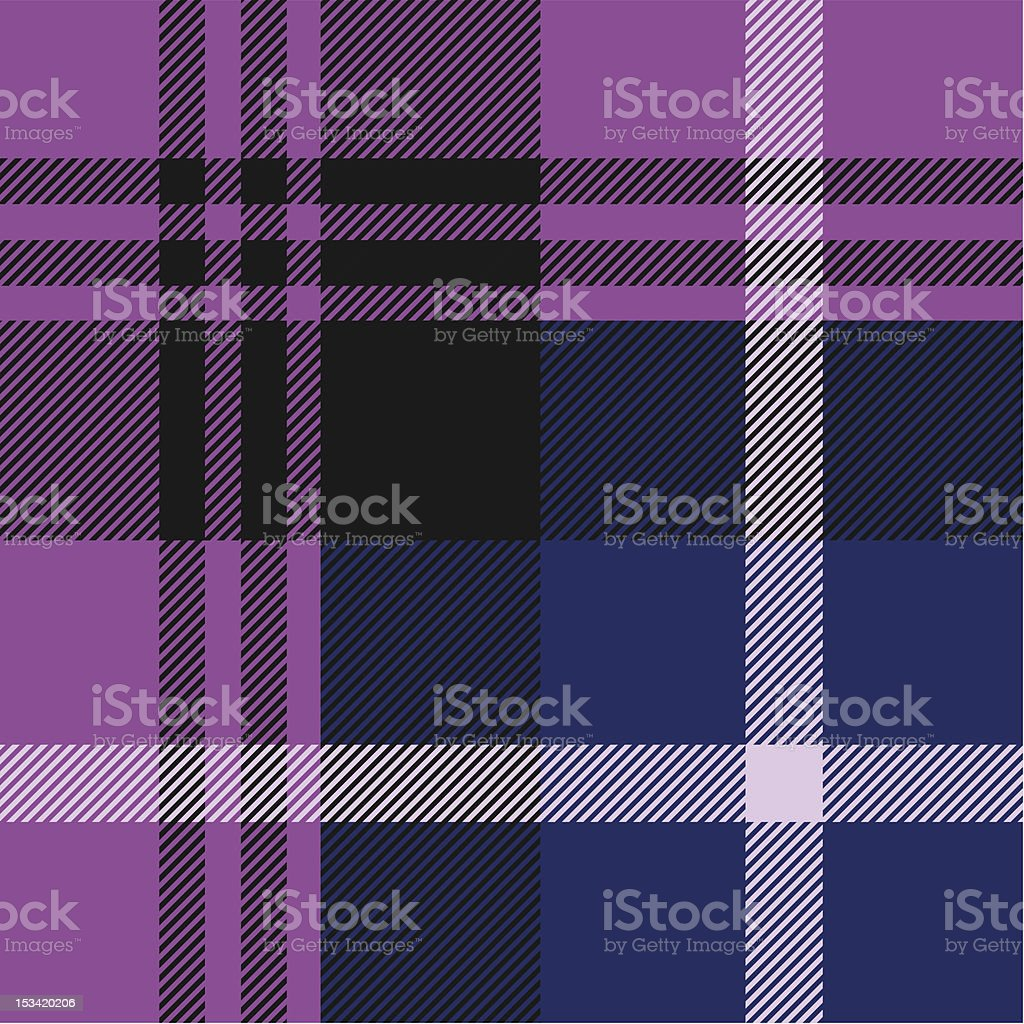 Tartan pattern royalty-free stock vector art