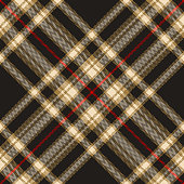 istock Tartan plaid pattern in black, gold brown, red, beige. Herringbone textured seamless dark check plaid graphic for flannel shirt, blanket, or other modern autumn winter fashion textile design. 1299300869