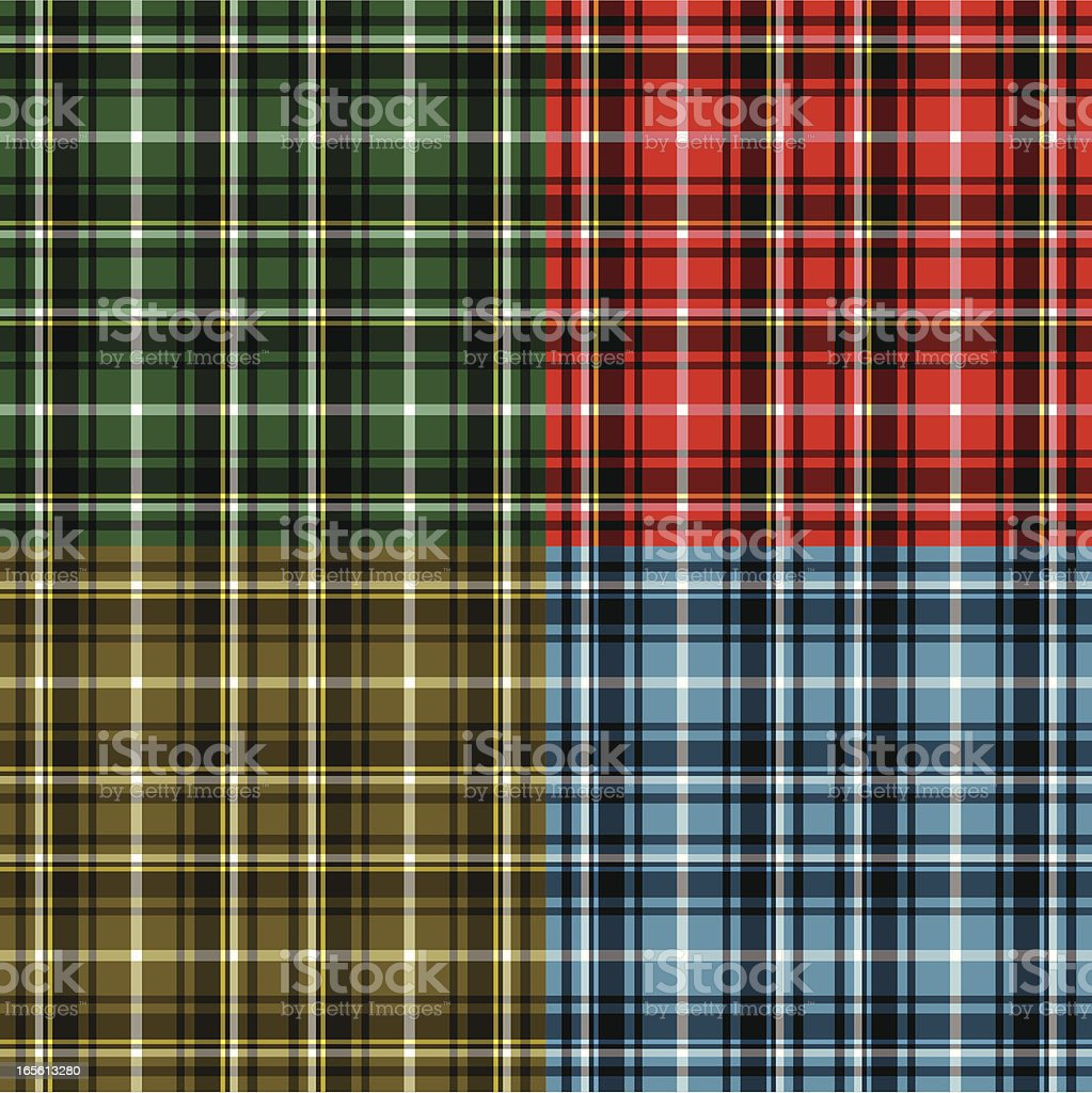 Tartan plaid . royalty-free stock vector art