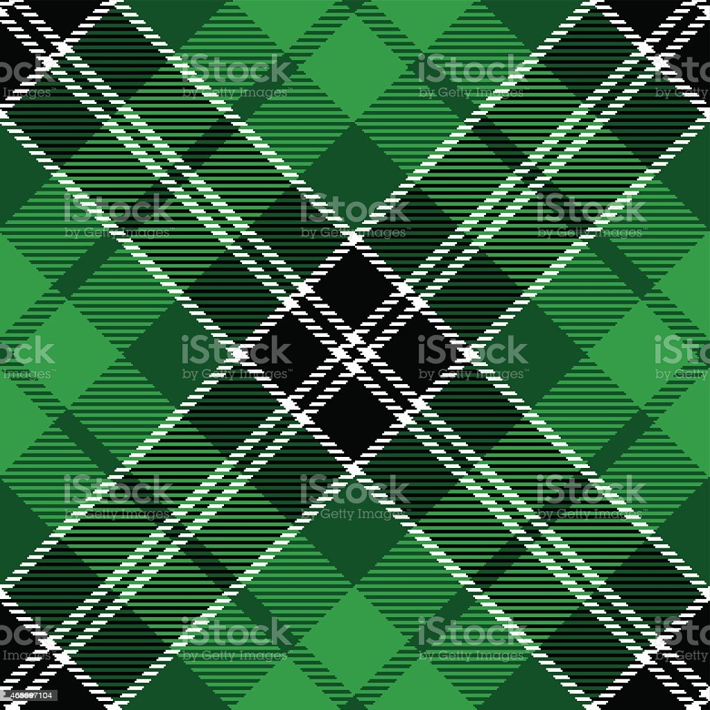 tartan plaid vector art illustration