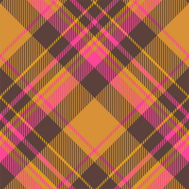 ilustraciones, imágenes clip art, dibujos animados e iconos de stock de tartan scotland vector de patrón a cuadros sin costuras. tejido de fondo retro. vintage comprobar color cuadrado textura geométrica. - fondos de franela