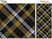 あるタータン タイプ格子縞のパターン ベクトル同様木こり格子縞とバッファローはシームレスな格子縞のパターン、市松模様のテクスチャ パターン繊維生地見本 p のスコットランドの格子縞のファッション布のような斜めの格子縞パターンであるチェック パターンを入力