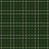 seamless green tartan