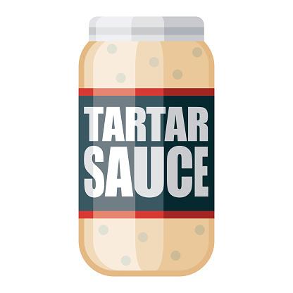 Tartar Sauce Icon on Transparent Background
