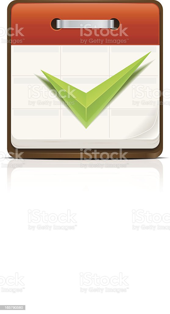 Task done! royalty-free stock vector art