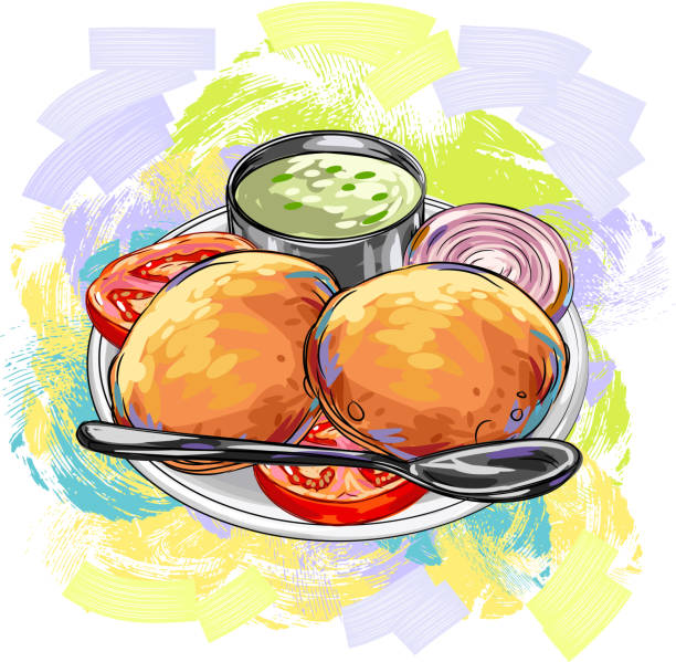 Best Indian Food Illustrations, Royalty-Free Vector ...