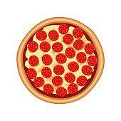 istock Tasty pizza pepperoni 1210537175