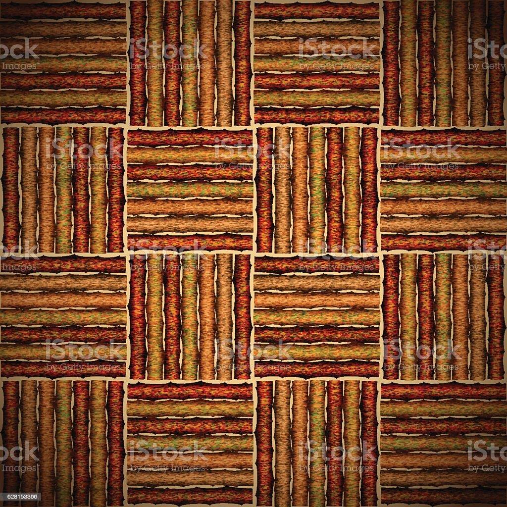 Tatami wood. Vector illustration vector art illustration