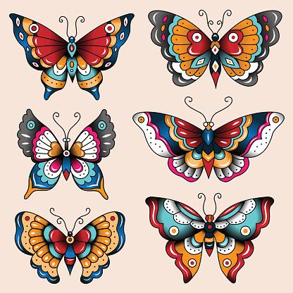 tatoo butterflies