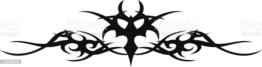 Tattoo diseño ilustración de tattoo diseño y más banco de imágenes de abstracto libre de derechos