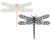 Tattoo Dragonfly