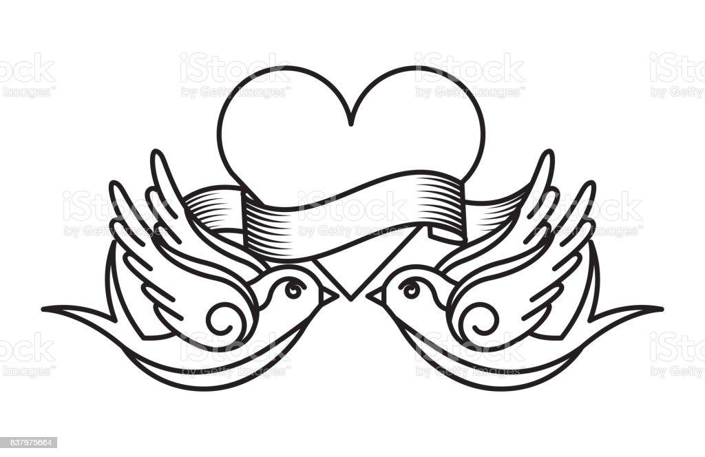 diseño de dibujos de tatuaje - ilustración de arte vectorial