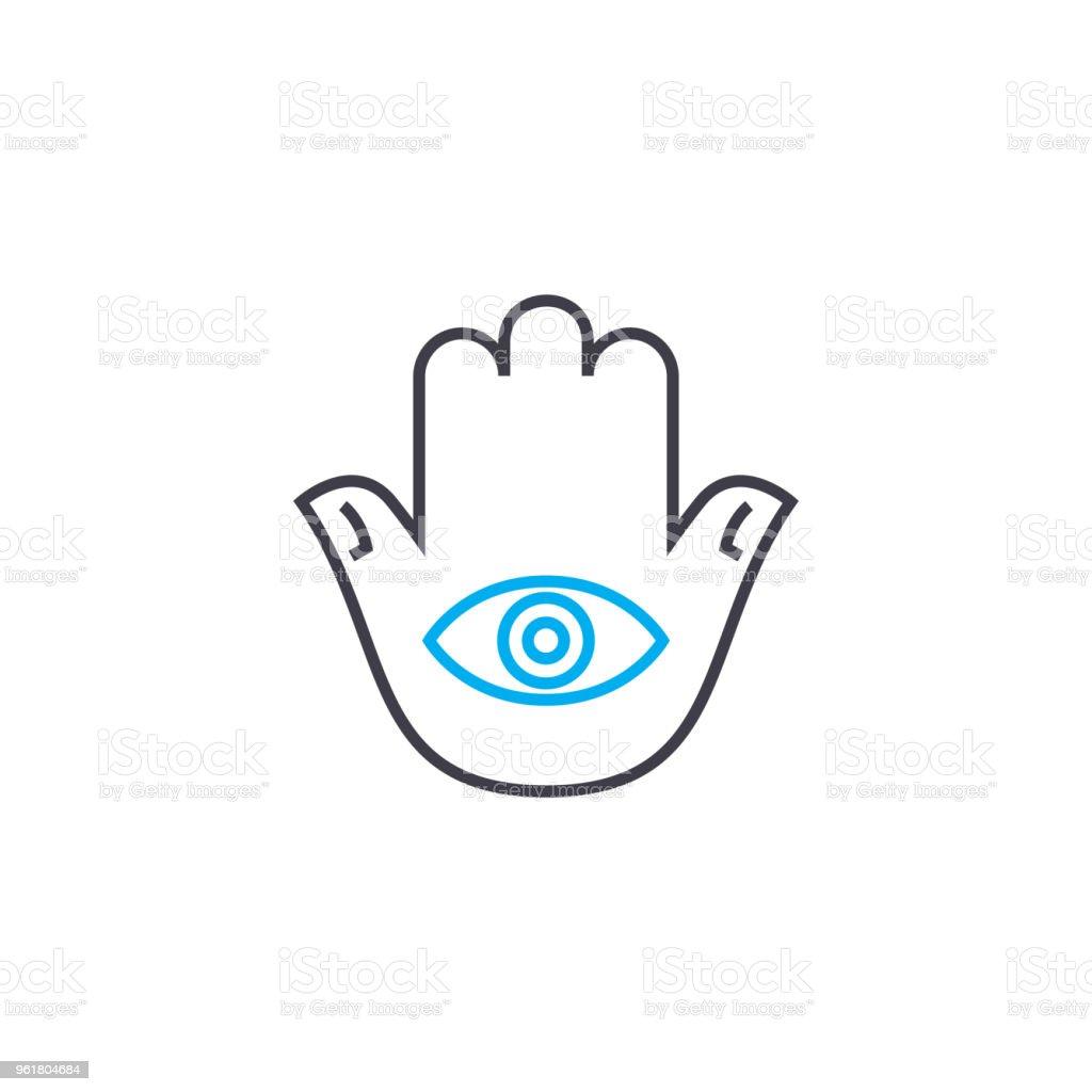 Concept De Tatouage Dicone Lineaire Tatouage Signe Vecteur Ligne