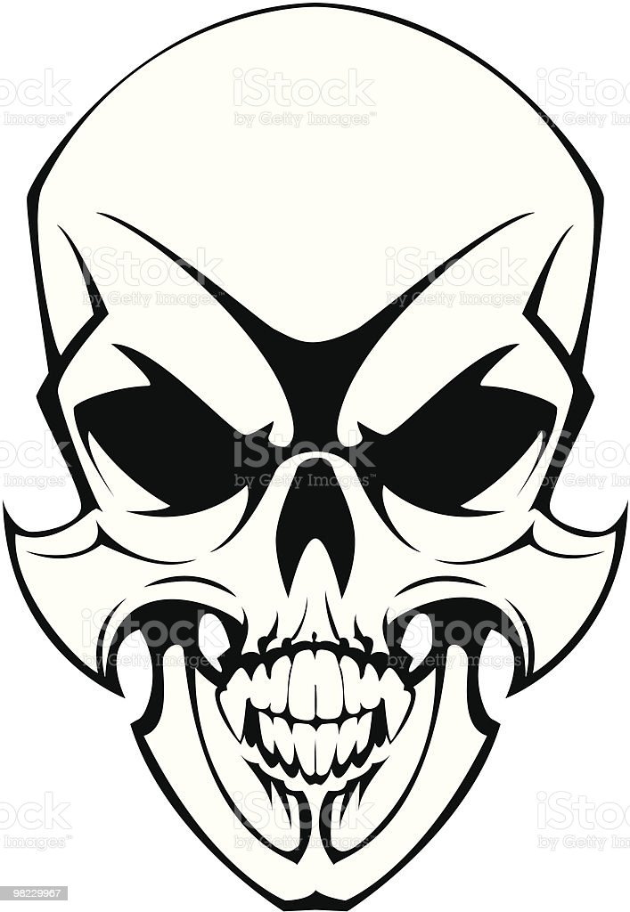 tattoo skull royalty-free tattoo skull stock vector art & more images of black color