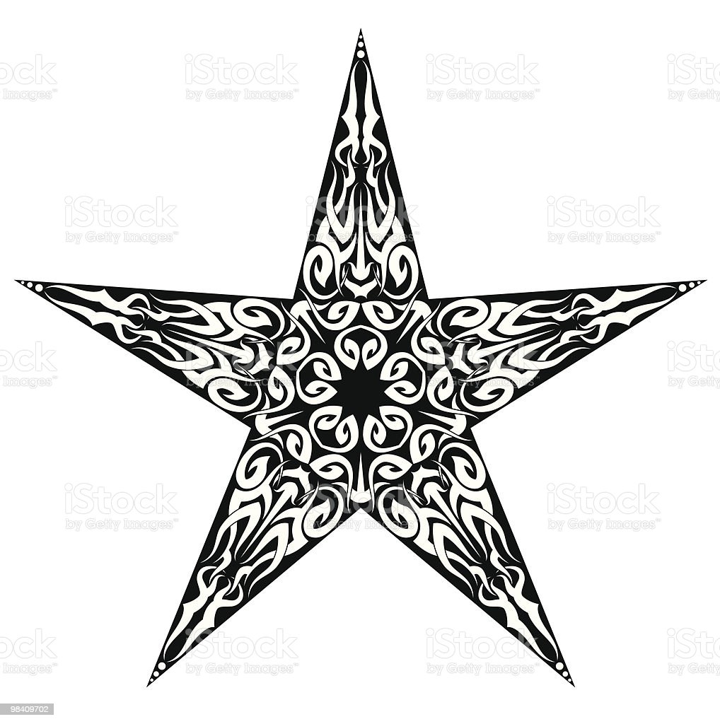 Tattoo Star royalty-free tattoo star stock vector art & more images of abstract
