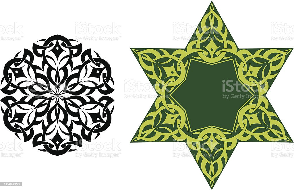 Tattoo Star royalty-free tattoo star stock vector art & more images of black color