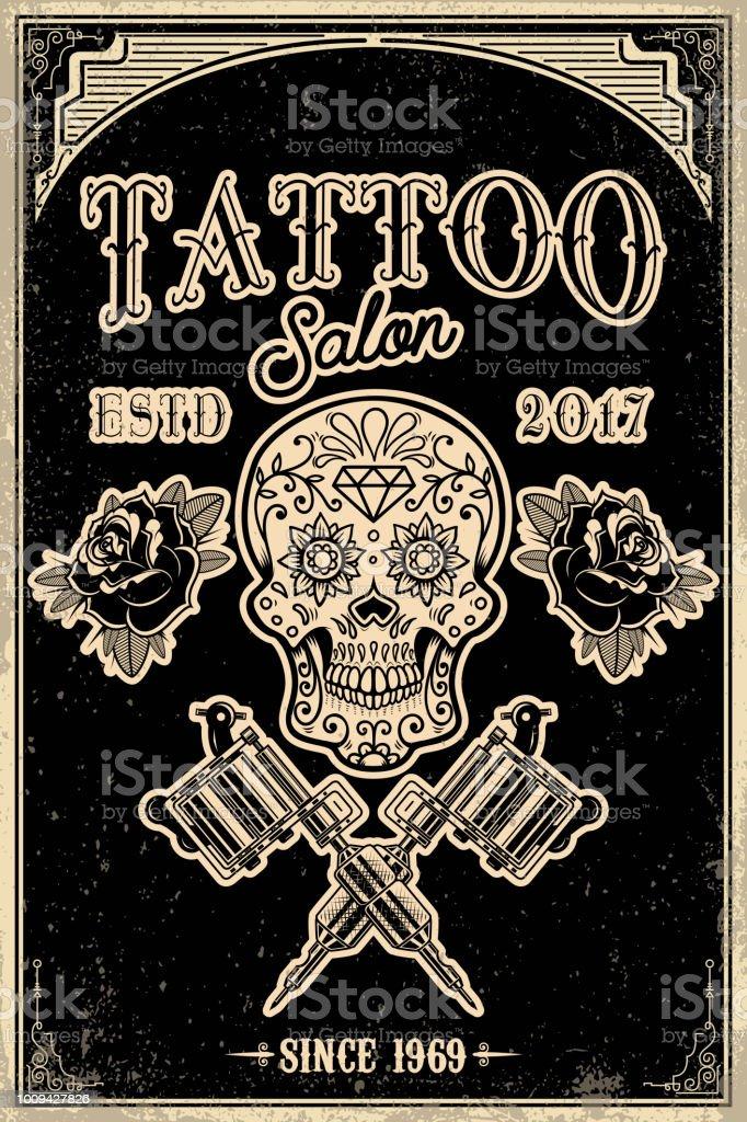 Tattoo totenkopf hintergrund