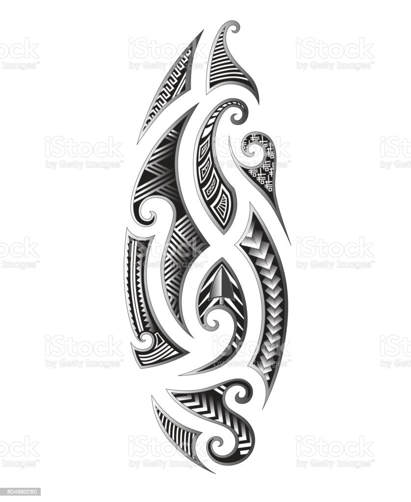 Dessin Tatouage Maorie tatouage maori tribal vecteur dessins tatouages tribaux – cliparts