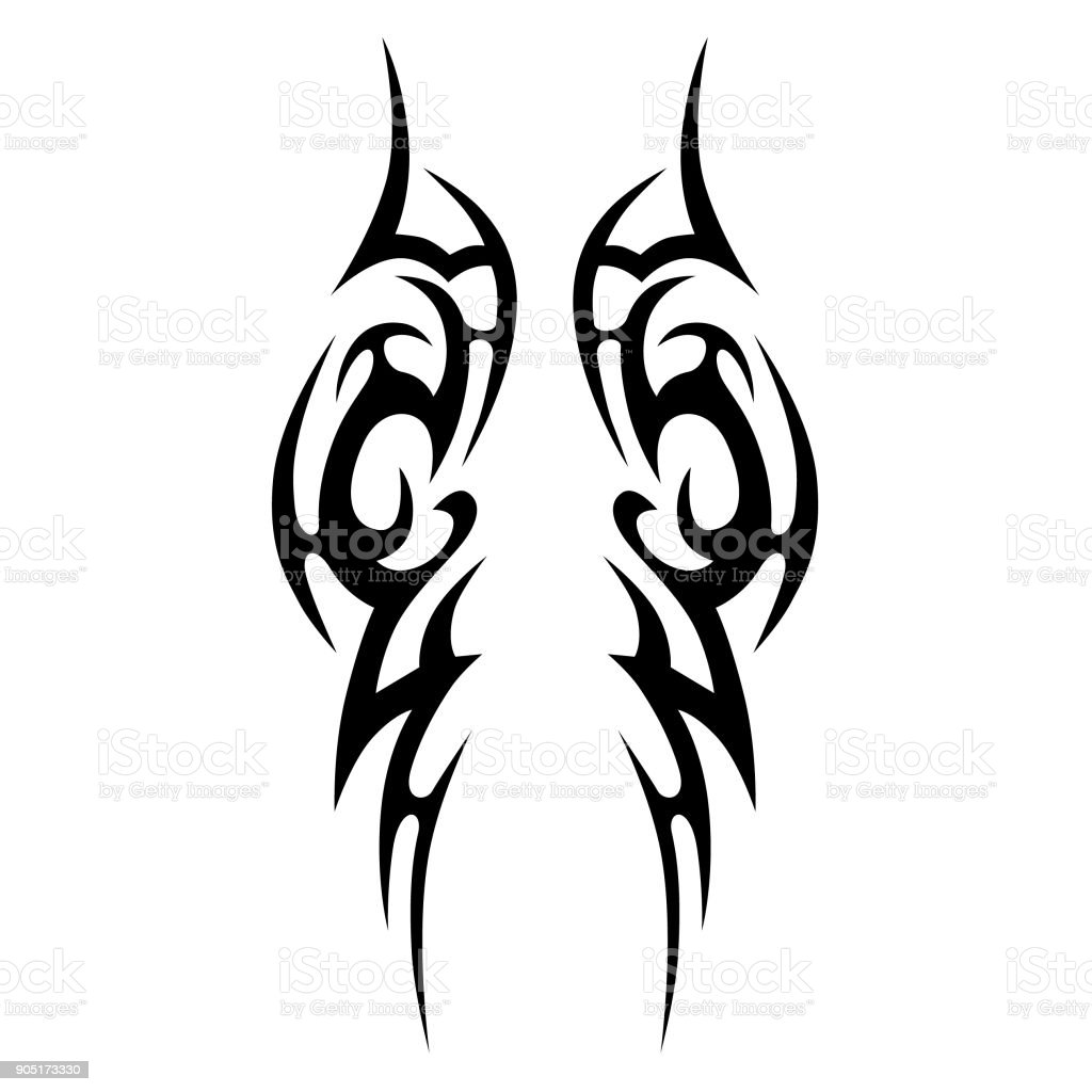 Tattoo Designs Vector Free Download: Tattoo Tribal Vector Design Simple Tattoo Tribal Symbol