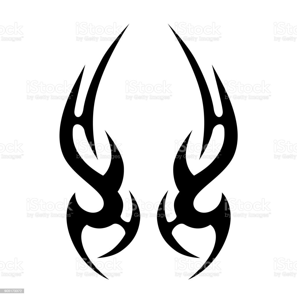 tattoo tribal vector design simple tattoo tribal symbol tattoo rh istockphoto com tribal vector tattoos tribal vector designs