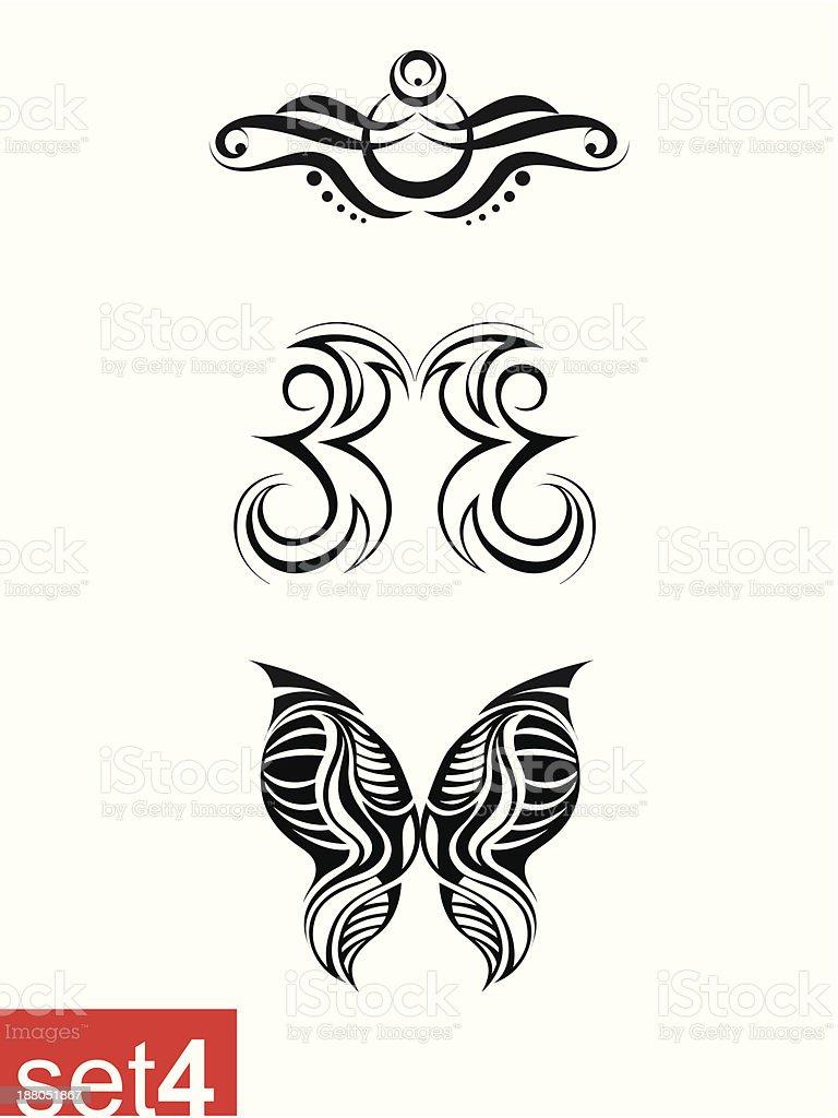 tattoo royalty-free stock vector art