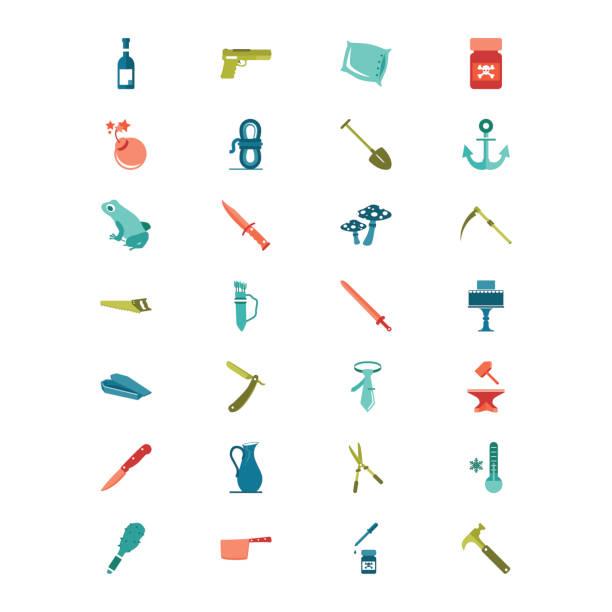 Tatwerkzeuge – Vektorgrafik