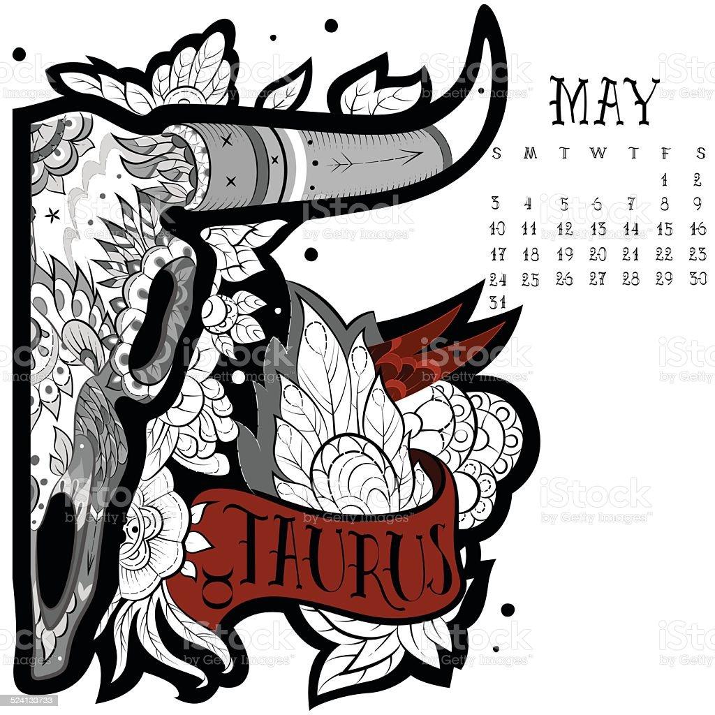 Taurus Tatuaż Stockowe Grafiki Wektorowe I Więcej Obrazów