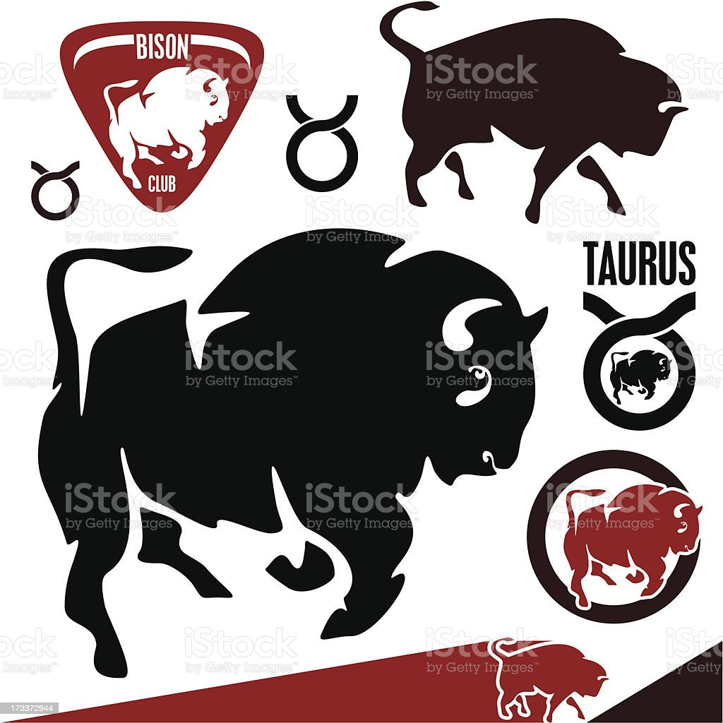 Taurus vector art illustration