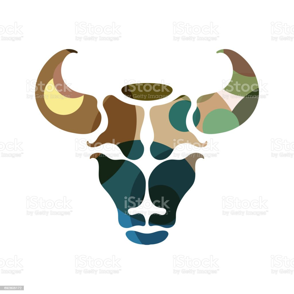 Taurus Zodiac Sign Stock Vector Art More Images Of Abstract
