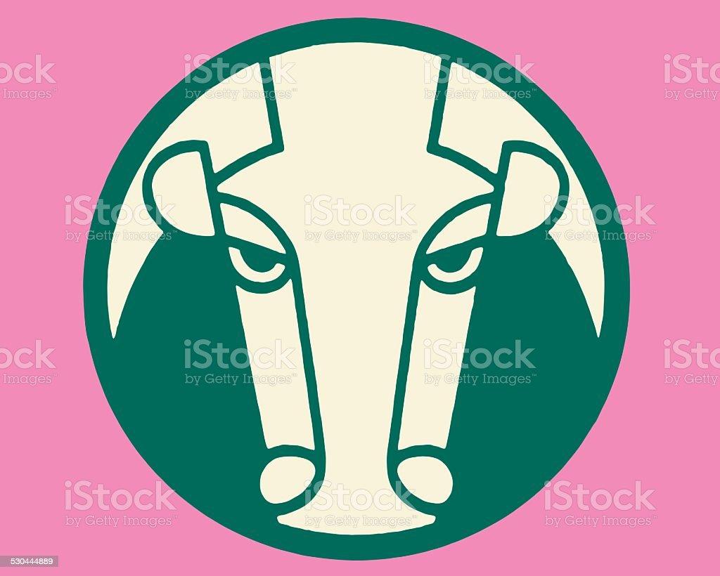 Taurus Zodiac Symbol Stock Vector Art More Images Of Bull Animal