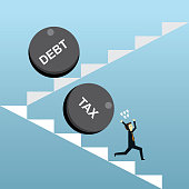 Tax and debt