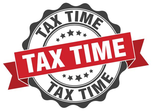 Royalty Free Tax Time Clip Art, Vector Images ...