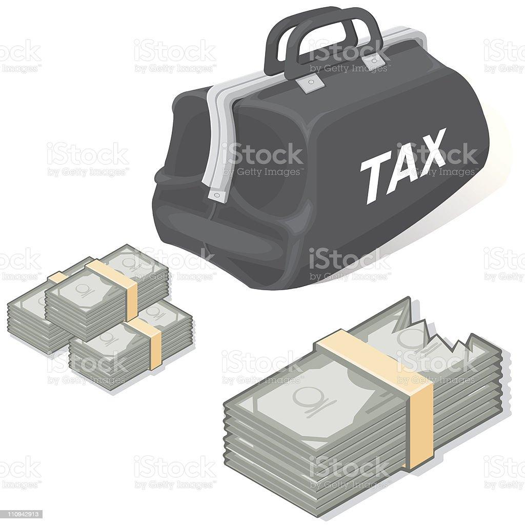 Tax royalty-free stock vector art