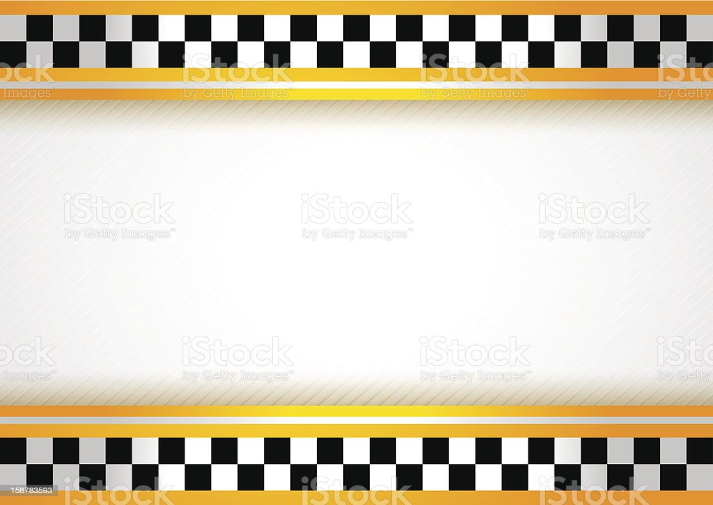 Taxi background royalty-free taxi background stock vector art & more images of auto racing