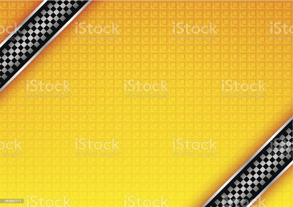 Taxi background vector art illustration