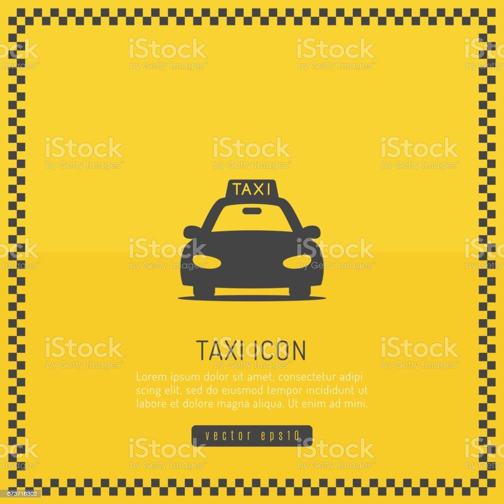Taxi Design vector art illustration