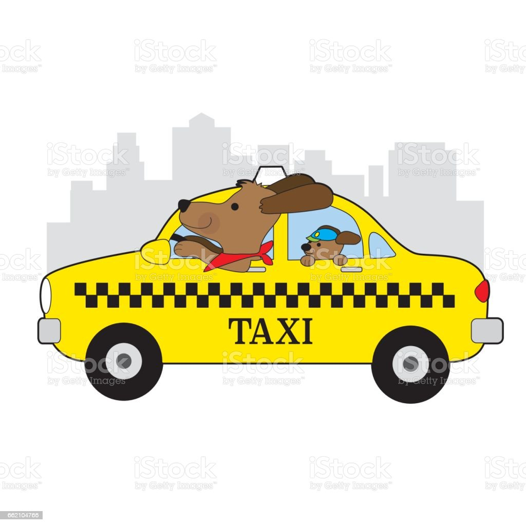 Taxi Dog royalty-free taxi dog stock vector art & more images of animal