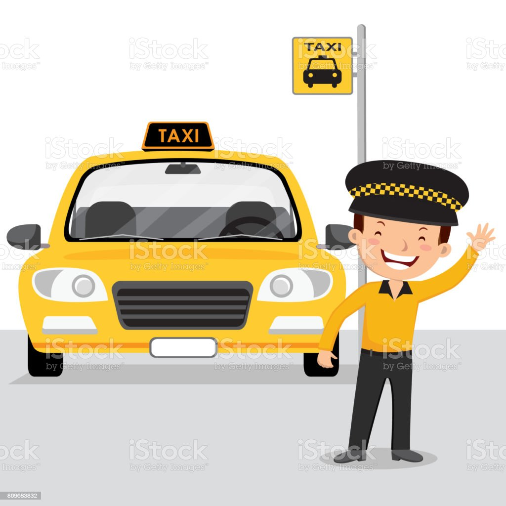 Taxi Stand Clip Art