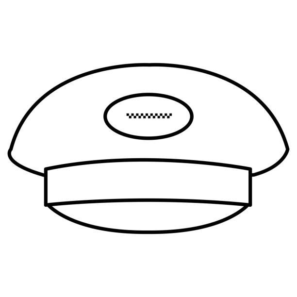 Royalty Free Driver's Cap Clip Art, Vector Images ...