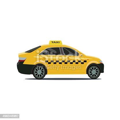 Vector. taxi cars.