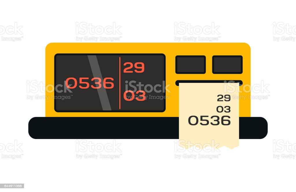 https www istockphoto com tr vekt c3 b6r taksimetre kutsal ki c5 9filerin resmi i c3 a7inde d c3 bcz stil ula c5 9f c4 b1m sembol s c3 bcr c3 bcc c3 bc toplu ta c5 9f c4 b1ma gm644911356 116948491