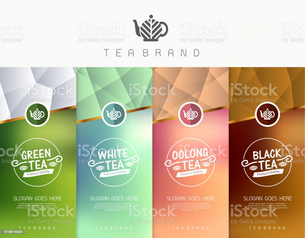 tea 01 vector art illustration