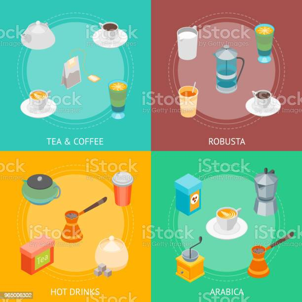 Tea and coffee banner card set 3d isometric view vector vector id965006302?b=1&k=6&m=965006302&s=612x612&h=5qiadcftk8e1d2u4qyimcpnnokmx4khnczfyl8ulose=
