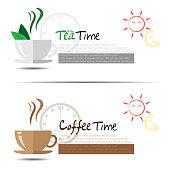 Tea and Coffee Time.