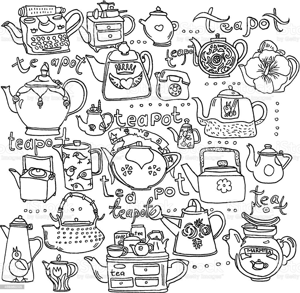 Tea Background royalty-free tea background stock vector art & more images of backgrounds